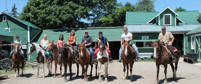 Go riding with Jack's Livery Stable